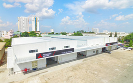 Lấy đà cuối năm, Mitsubishi mở trung tâm dịch vụ, phụ tùng, huấn luyện lớn nhất Việt Nam