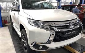 Xem trước Mitsubishi Pajero Sport máy dầu 2018 giá hơn 1 tỷ đồng đã được thông quan và sắp mở bán