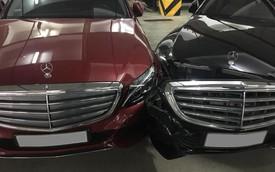 Bộ đôi Mercedes-Benz đấu đầu nhau tại Hà Nội: Đen thôi, đỏ quên đi!