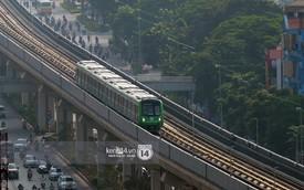 Chùm ảnh: Hành trình 15 phút đoàn tàu đường sắt trên cao lao vun vút từ ga Cát Linh tới Yên Nghĩa
