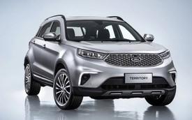 Ford Territory dùng chung khung gầm với xe nhái Range Rover của Trung Quốc
