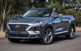 Hyundai Santa Fe mui trần bất ngờ ra mắt