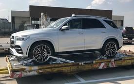 Mercedes-Benz GLE 2019 bất ngờ lộ ảnh thực tế biến ảnh phác thảo chính hãng trở nên... vô dụng