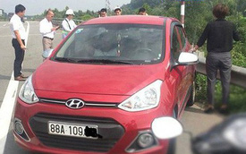 CSGT mời nữ tài xế chạy ngược chiều trên cao tốc Nội Bài – Lào Cai lên làm việc