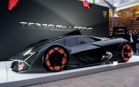 Lamborghini bí mật hé lộ siêu xe LB48H hoàn toàn mới