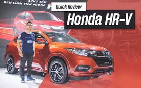 Đánh giá nhanh Honda HR-V giá 871 triệu đồng: Đẹp, độc và đắt