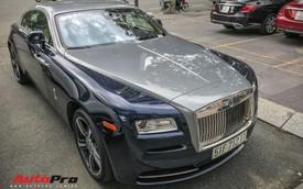 Rolls-Royce Wraith của thiếu gia Phan Thành tái xuất trên phố Sài Gòn sau thời gian dài vắng bóng