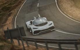 Siêu xe Mercedes-AMG Project One đi vào thử nghiệm, chất F1 vẫn giữ nguyên