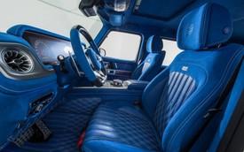 Nội thất Mercedes-AMG G63 siêu nổi: Chỉ toàn màu xanh trời