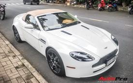 Hàng hiếm Aston Martin Vantage Roadster đầu tiên tại Việt Nam vẫn lộng lẫy trên phố Sài Gòn
