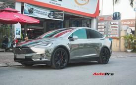 """Chạm mặt SUV dân chơi Tesla Model X của thiếu gia Dương """"Kon"""""""