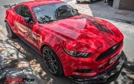 Đại gia Nha Trang độ thân rộng cho xe cơ bắp Ford Mustang