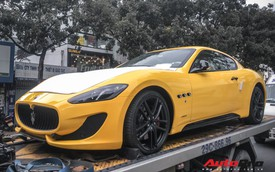 Maserati Granturismo Sport màu vàng đầu tiên Việt Nam cho đại gia mê hàng độc