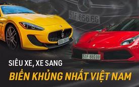 Những siêu xe/xe sang đeo biển số đẹp nhất Việt Nam (P.1)