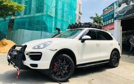 """Dân chơi Việt độ Porsche Cayenne cho mùa """"phá xe"""" VOC 2018"""
