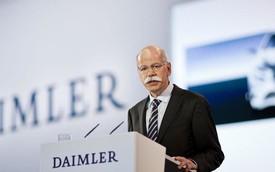 """Những nốt thăng trầm trong """"bản nhạc"""" Daimler suốt 12 năm tại nhiệm của CEO Dieter Zetsche"""
