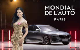 Hoa hậu Việt Nam 2018 Trần Tiểu Vy sẽ là khách mời đặc biệt của VinFast tại Paris Motor Show