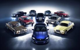 Jaguar mang 8 thế hệ XJ tới Paris Motor Show để kỷ niệm ngày trọng đại