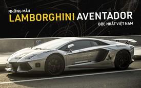 Những mẫu Lamborghini Aventador độc nhất Việt Nam