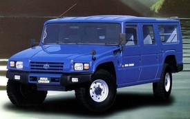 Mega Cruiser - Xe dẫn động 4 bánh lớn nhất của Toyota tương tự Hummer H1 ít ai biết