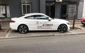 Chủ xe biểu tình vì ức chế với chất lượng Mercedes-Benz C-Class