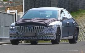 Xe sang Hàn Quốc Genesis G80 2020 thăm dò 3 ông lớn xe sang nước Đức