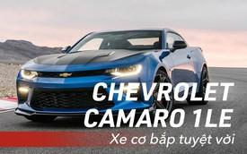 8 chi tiết nhỏ biến Chevrolet Camaro 1LE trở thành mẫu xe cơ bắp đáng mơ ước