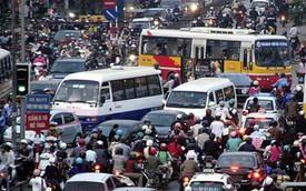 Hà Nội đề xuất thu phí xe vào khu vực dễ ùn tắc ở trung tâm thành phố