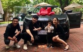 Gia đình vlogger HuyMe, Trang Lou tậu Maserati Levante tiền tỷ