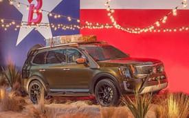 SUV 7 chỗ cỡ lớn Kia Telluride bất ngờ ra mắt bản độ trước cả bản chính thức