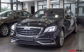 Cận cảnh Mercedes-Maybach S450 2018 - Sedan siêu sang giá 7,219 tỷ đồng