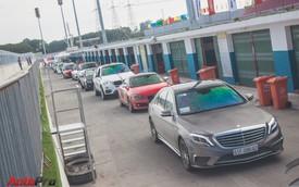 Đón năm mới, hàng loạt siêu xe, xe độ quần tụ tại trường đua Đại Nam