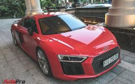 Audi R8 V10 Plus từng của Đông Nhi và Ông Cao Thắng tái xuất trên phố