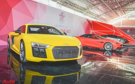 Bộ ba siêu xe tiền tỷ đọ dáng tại Sài Gòn