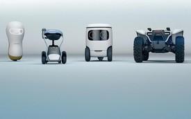 CES 2018: Ô tô trở về tương lai
