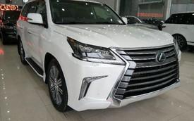 Lexus LX570 nhập Mỹ cao hơn chính hãng tại Việt Nam cả tỷ đồng