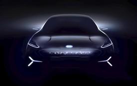 """Kia """"nhá hàng"""" xe điện Niro dùng màn LED thay lưới tản nhiệt tại CES 2018"""
