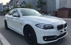 BMW 520i đời 2014 lăn bánh hơn 35.000 km rao bán lại giá 1,39 tỷ