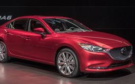 Mazda6 lộ phiên bản dẫn động AWD sắp ra mắt