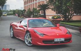 Ferrari 458 Italia từng của Phan Thành tái xuất trên phố