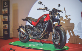 Benelli Việt Nam chính thức ra mắt Leoncino 2018 - đối thủ Ducati Scrambler Sixty2