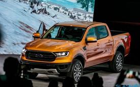 Cận cảnh chiếc Ford Ranger 2019 động cơ EcoBoost tại Detroit