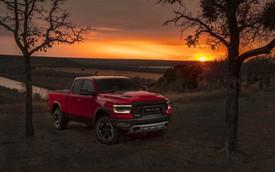 Ram 1500 lọt top 3 bán tải Bắc Mỹ, đứng dưới Ford F-Series và Chevrolet Silverado
