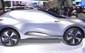 GAC Enverge - SUV điện Trung Quốc không cửa sổ, mở dạng cánh chim