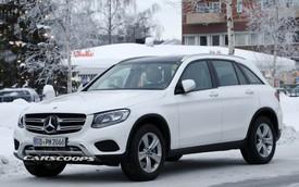 Mercedes-Benz GLC 2019 lộ ảnh nội thất
