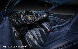 Ferrari 488 Spider độ nội thất: Khi siêu xe trở nên siêu sang
