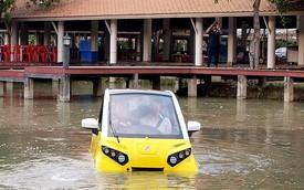 Bỏ việc ở Toyota, kỹ sư này đã khởi nghiệp bằng dự án ô tô điện tự nổi khi ngập nước