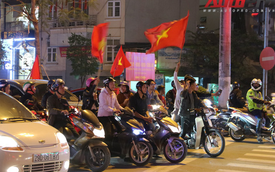 U23 Việt Nam tiến vào chung kết - đêm không ngủ của giao thông Hà Nội
