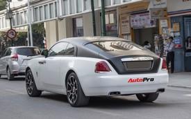 Rolls-Royce Wraith độ mâm bản Black Badge độc nhất Hà Nội