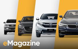 Thị trường ô tô Việt Nam 2017: Năm của những bản lề